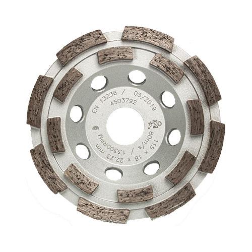 Schleiftopf 2-reihig 115 mm von STAHLHÄRTER