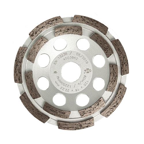 Schleiftopf 2-reihig 125 mm von STAHLHÄRTER